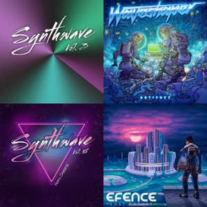 Synthwave/Retrowave playlist, 9+ hours worth of tunes to