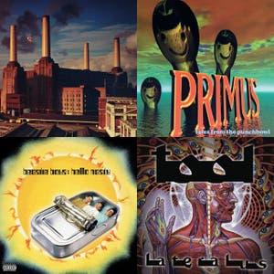 99 albums playlist cover