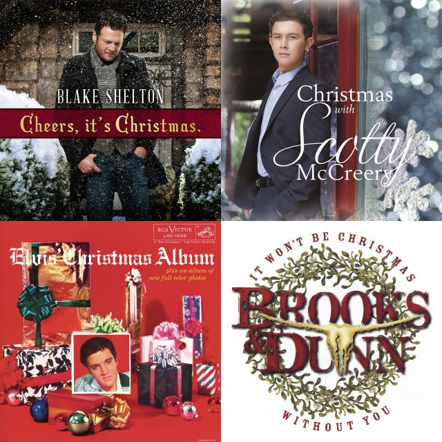 Blake Shelton Cheers Its Christmas.Zz Country Christmas On Spotify