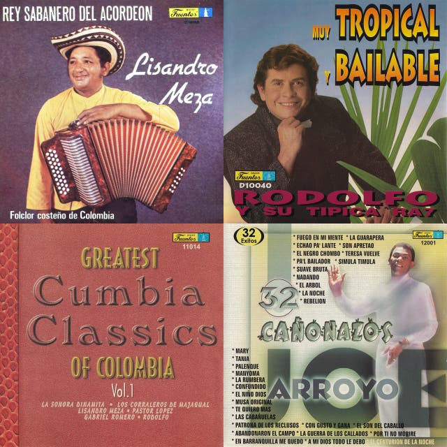 Various Artists – Greatest Cumbia Classic Of Colombia Vol  1