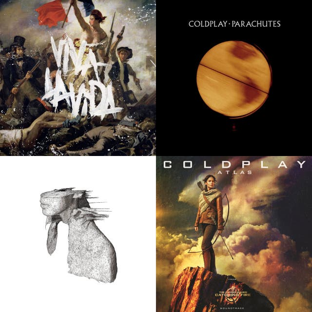 Coldplay – Parachutes on Spotify