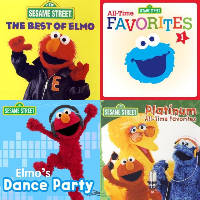 Sesame Street 90's Albums on Spotify
