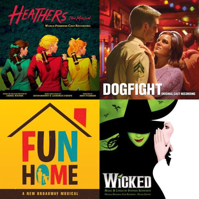 new broadway playlist on Spotify