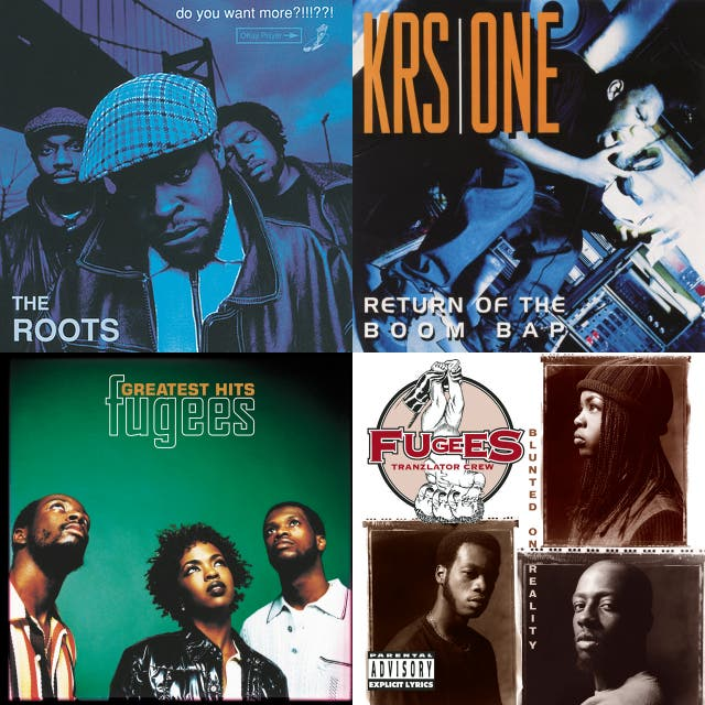 Beyoncé, Fugees, OutKast, The Roots, TLC) on Spotify