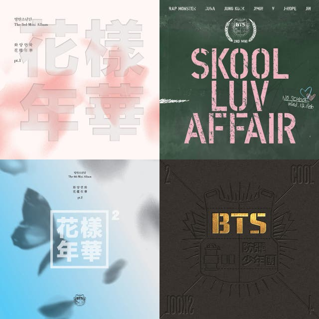Bts shower songs on Spotify