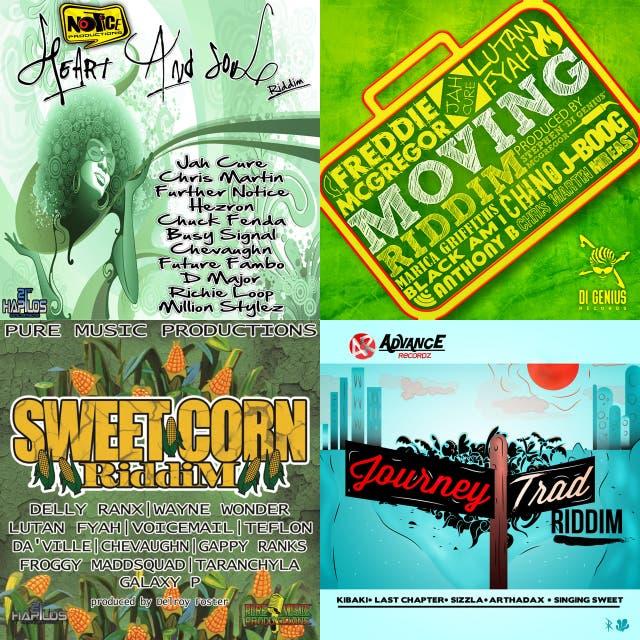 Reggae riddims on Spotify