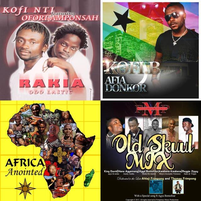 Ghana oldies on Spotify