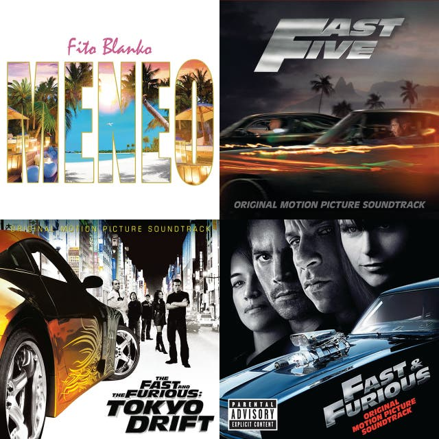 Random Spanish Songs from Fast and Furious on Spotify