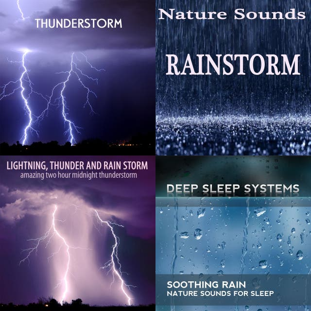 15 Hour Rainstorm on Spotify