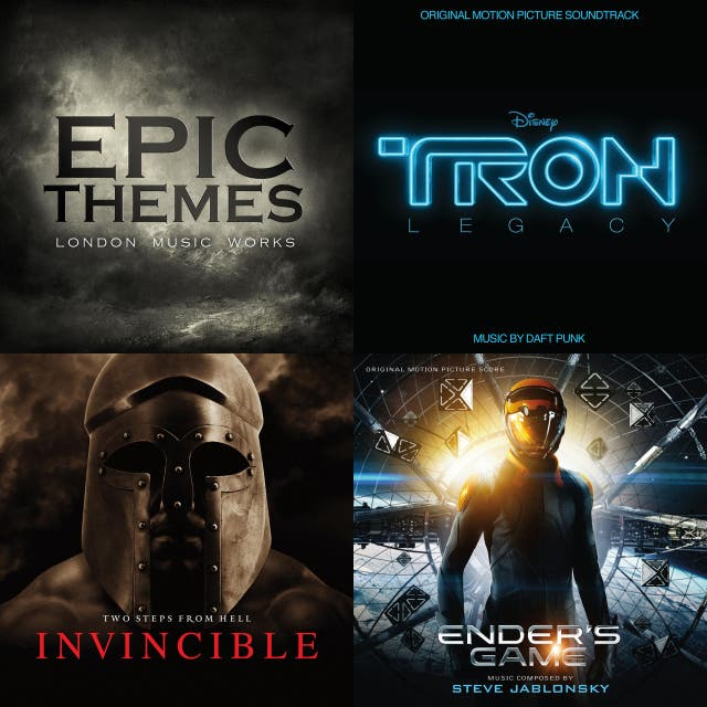 Powerful Epic Instrumental Music- Movie Soundtracks, Classical Music