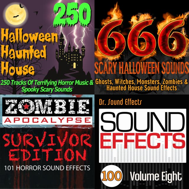 Pro Sound Effects Library — 666 Scary Halloween Sounds: Ghosts
