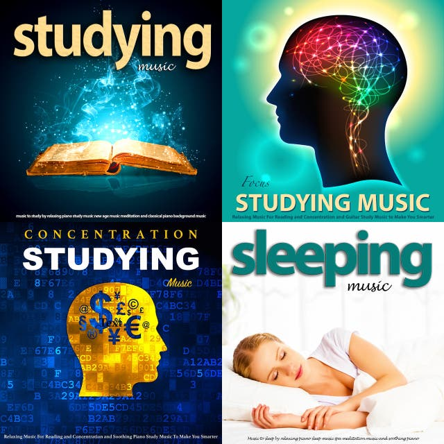 Studying music and relaxing music for studying, focus and