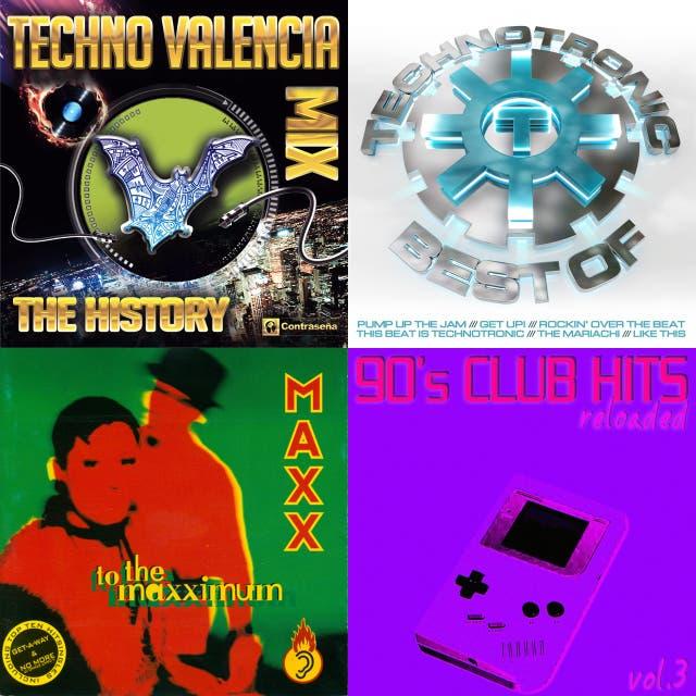 90s techno on Spotify