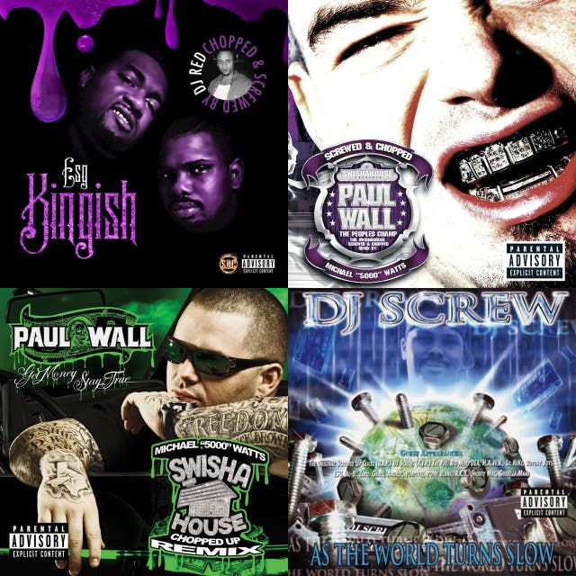 chopped and screwed spotify playlist