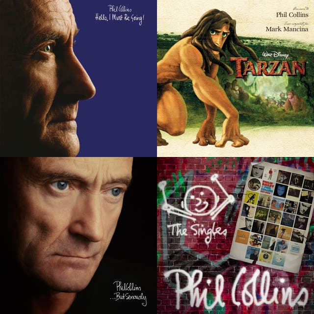 Phil collins the singles 2016