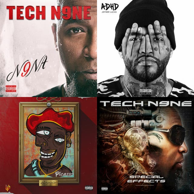 Vic's hip hop likes on Spotify