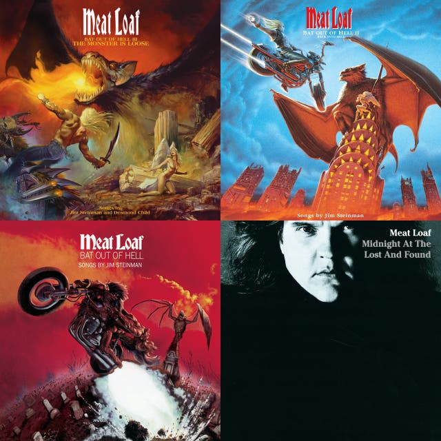 meatloaf bat out of hell album cover