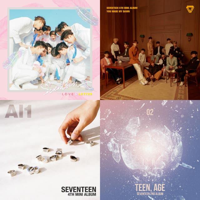 SEVENTEEN (2019 re-do) Top 10 Album Tracks/B-sides on Spotify