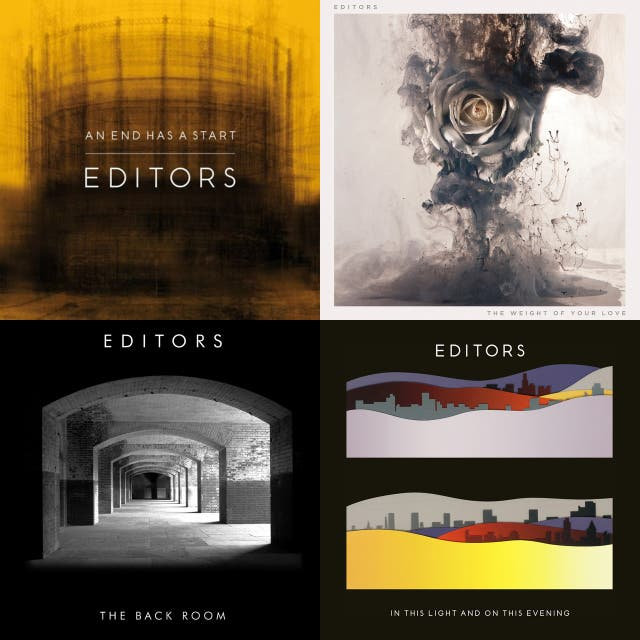 Editors Discography on Spotify