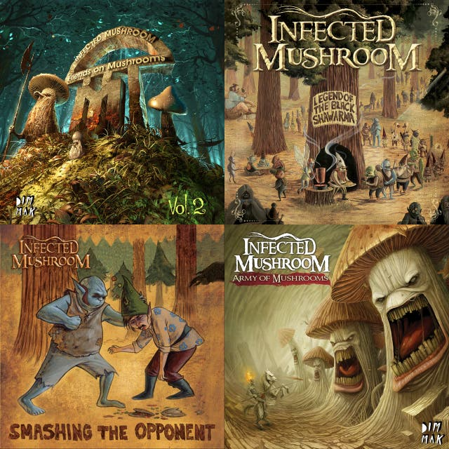 infected mushroom discography on spotify