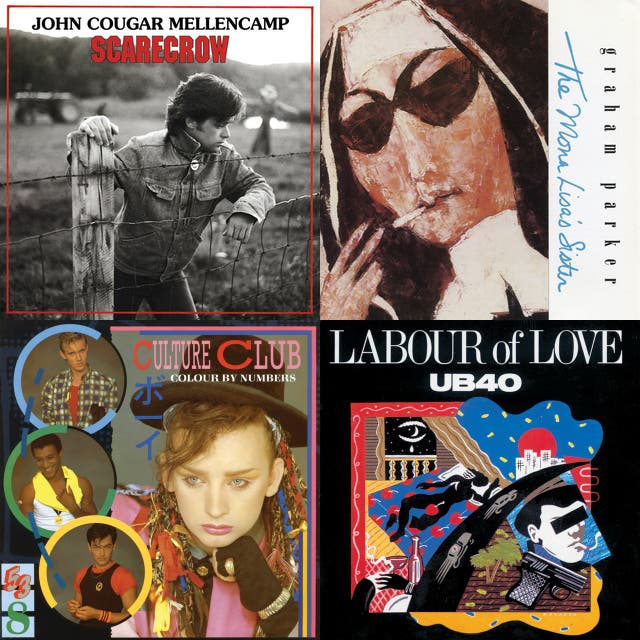 Best Albums of the Eighties on Spotify
