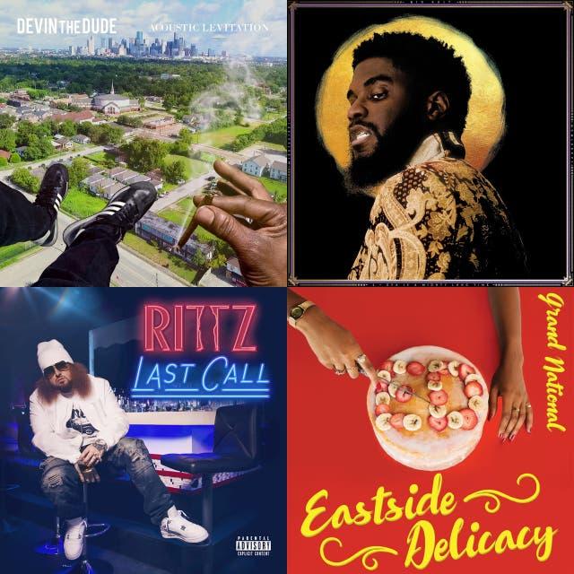 2017 Southern Rap Albums on Spotify