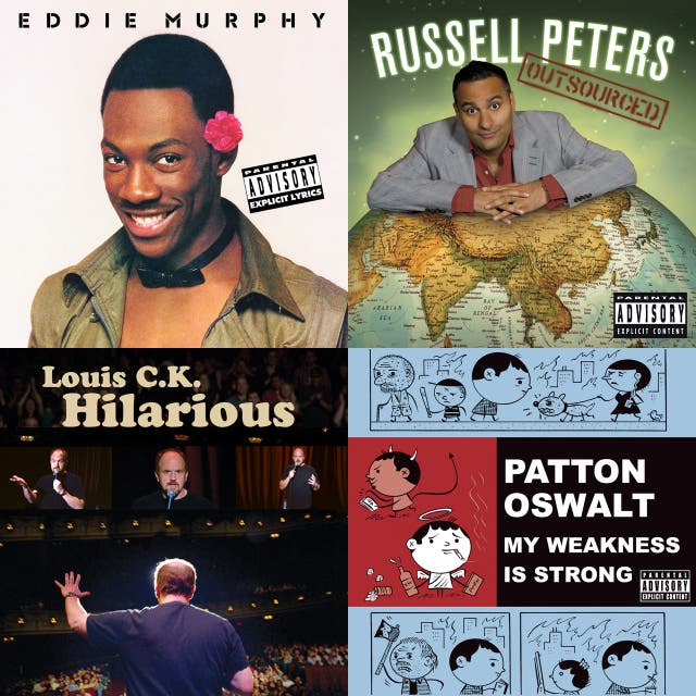 Good Stand-Up Comedy Albums on Spotify