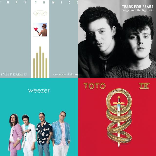 Weezer Teal Album and Originals on Spotify