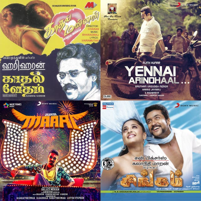 From The 80's, 90's & Now Tamil Movie Hits on Spotify