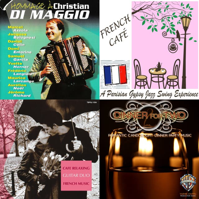French cafe music on Spotify
