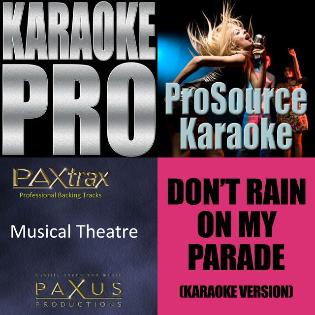 musical theatre backing on Spotify