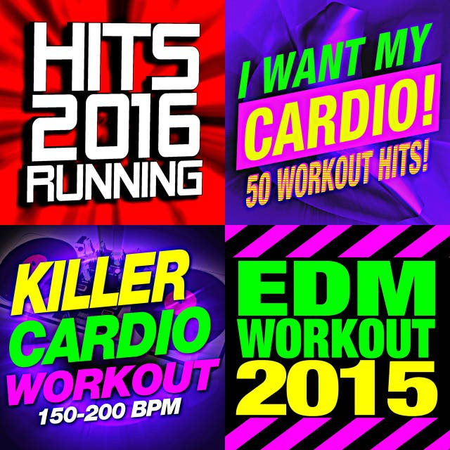 Running Music Workout - 50 Running Hits! EDM Dance Remixed