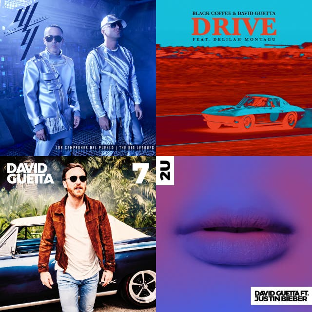 David Guetta 7 Album Cover