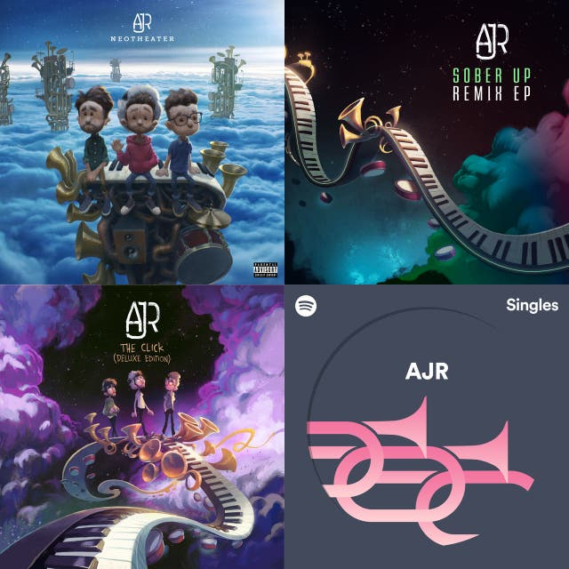 AJR: Complete Collection on Spotify