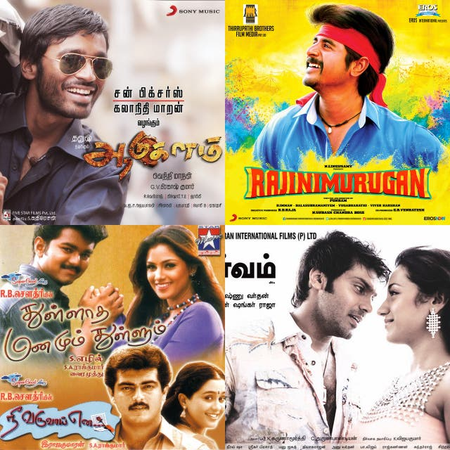 Tamil hits on Spotify