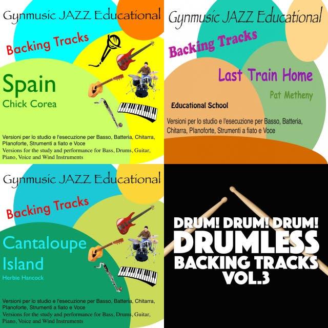Drumless play along tracks