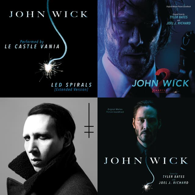 LED Spirals john wick red circle on Spotify