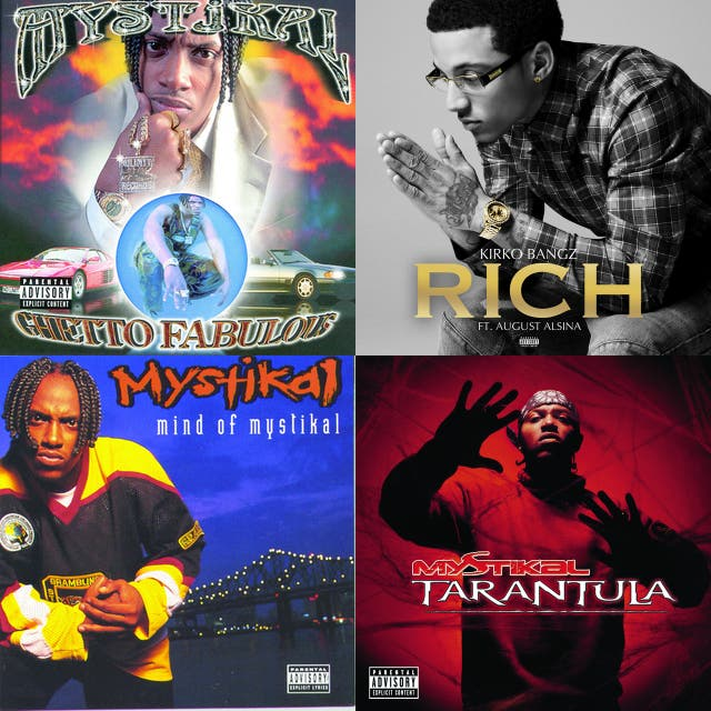 Mystikal Album Covers