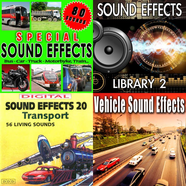 Pre K listening & sound effects on Spotify