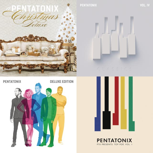 Pentatonix Christmas Deluxe.Kashup Penx On Spotify