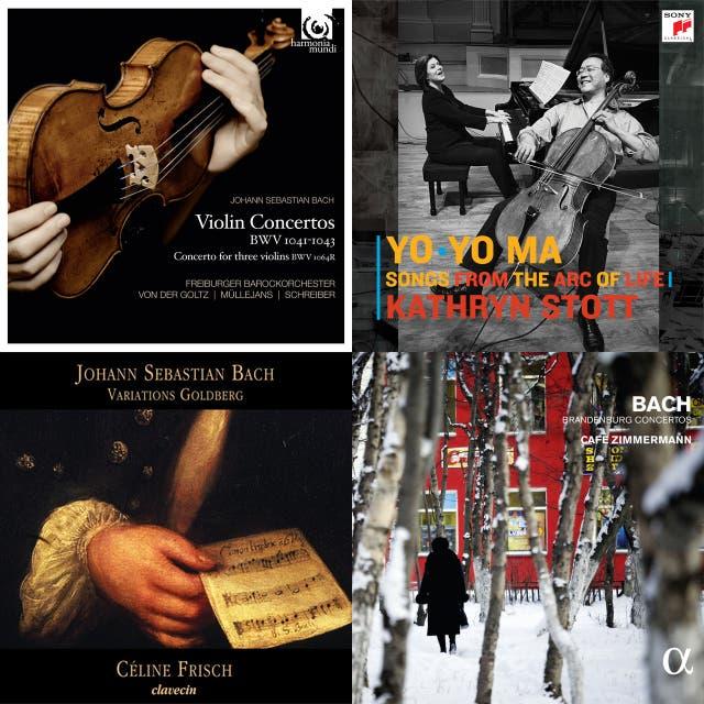 Johann Sebastian Bach, Charles Gounod, Yo-Yo Ma, Kathryn Stott — Ave