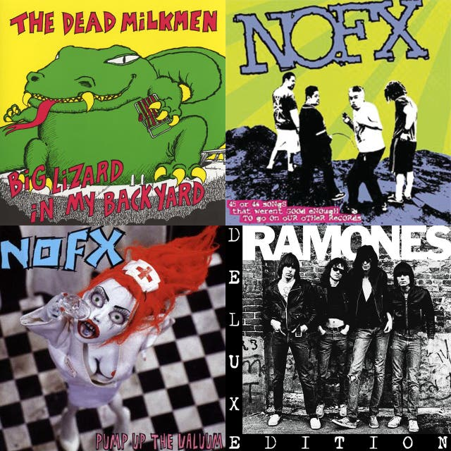 nofx pump up the valuum songs