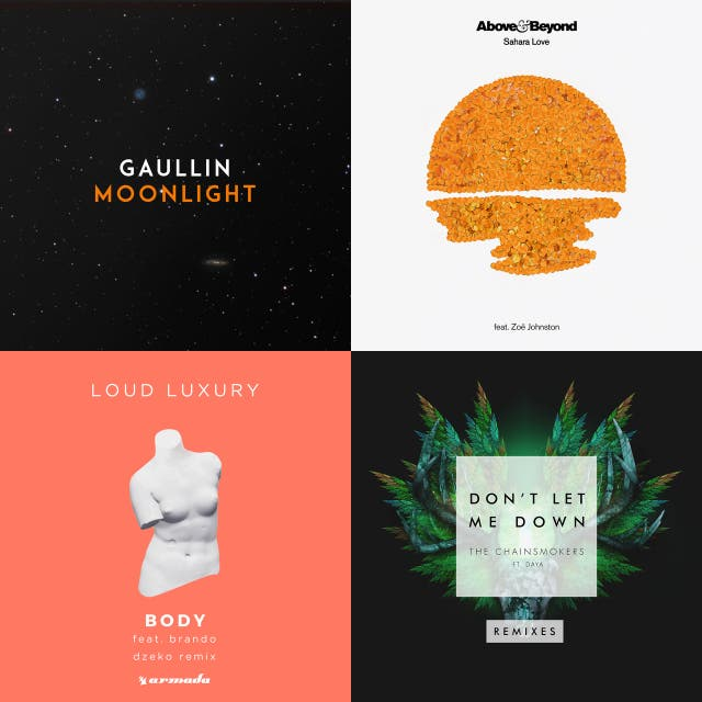 Top 100 EDM Remixes on Spotify