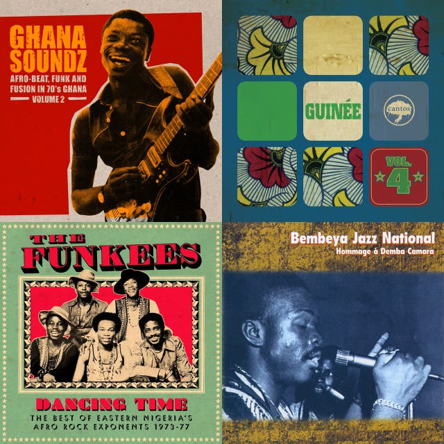 Ghana Soundz, Vol  2: Afro-Beat, Funk and Fusion in 70's