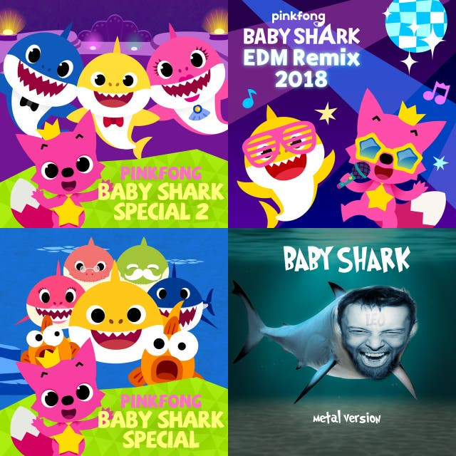 Baby Shark, Remixes on Spotify