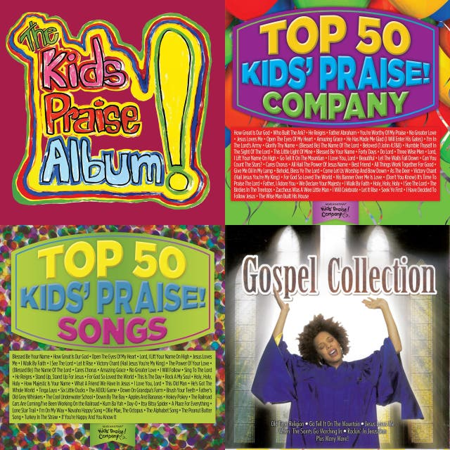 Kids praise and Bible songs on Spotify
