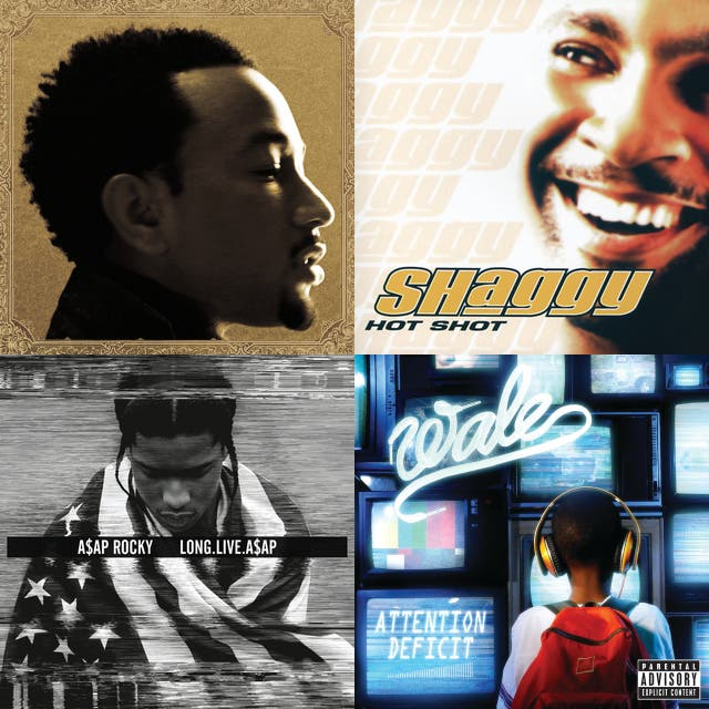 Hip hop, Rap, R&B ~ 90-100 BPM on Spotify