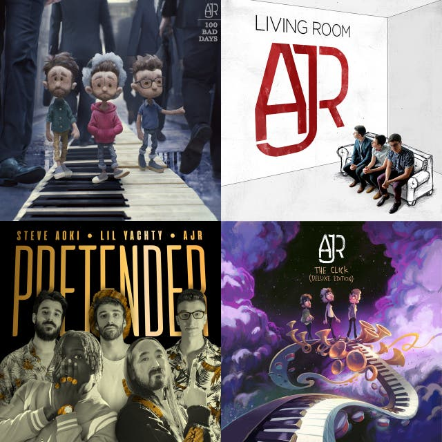 All Ajr Songs I Could Find On SpotIfy on Spotify