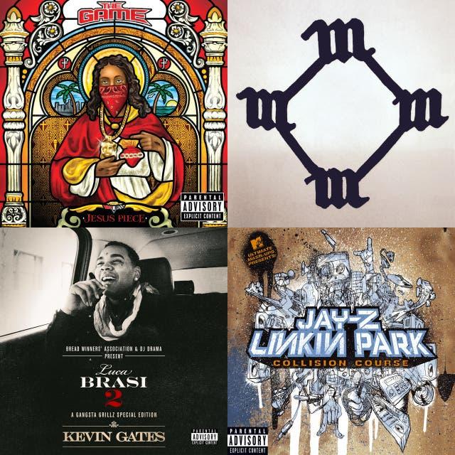 Workout playlist hard rap on Spotify