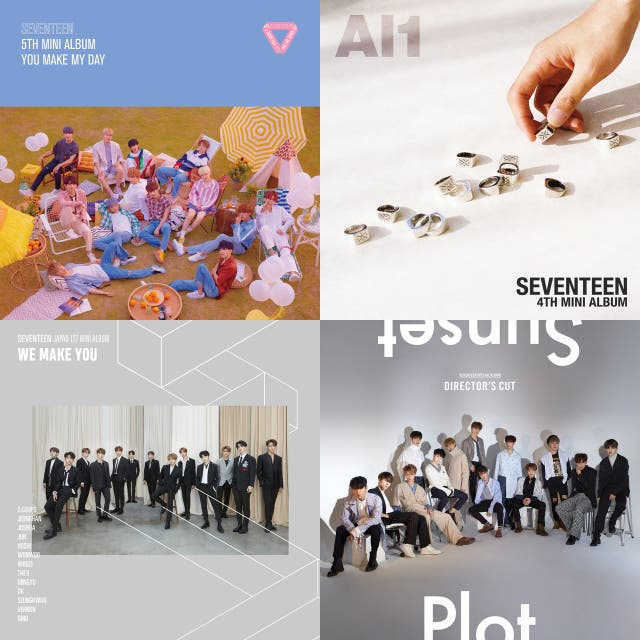all seventeen songs on Spotify